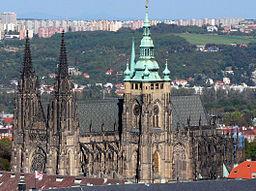La Catedral de Praga, faro de la capital checa