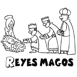 Dibujos Reyes Magos