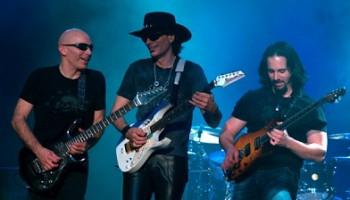 Joe Satriani, SteveVai & John Petrucci