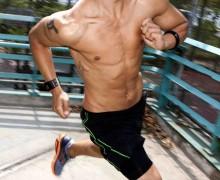 Pulseras running para deportistas que miden la frecuencia cardíaca, con pulsómetro, altímetro