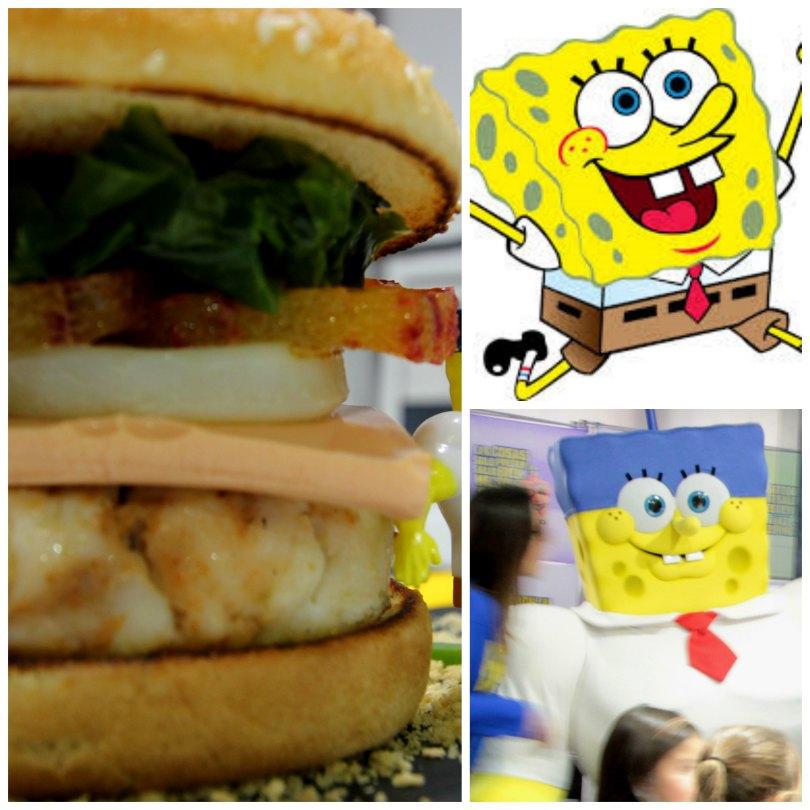 Receta de la Burger Cangreburger ¡Cocina y diviértete con Bob Esponja!