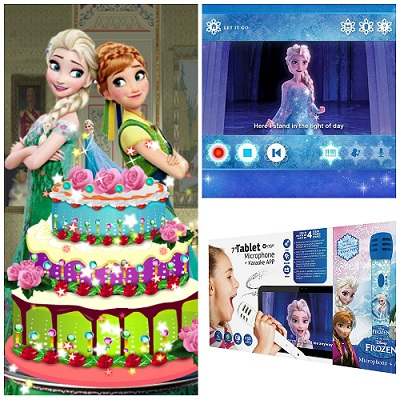 Tablet Frozen y accesorios: Análisis de características y precios