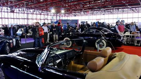 Exposición del Salón Internacional de Vehículos Clásicos de Madrid