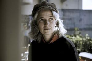 Imagen de la novelista Belén Gopegui