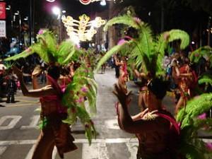 Desfile del Carnaval de Águilas, en Murcia