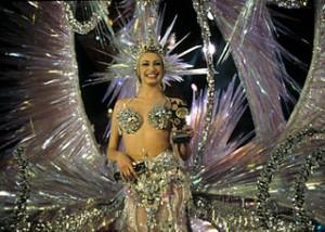 Elección de la Reina del Carnaval, en Tenerife