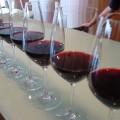 Copas de vino tinto