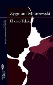 """Detalle de la portada de la novela """"El caso Telak"""", del escritor Zygmunt Miloszewski"""