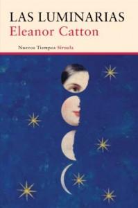 "Portada de ""Las luminarias"", novela de la escritora Eleanor Catton"