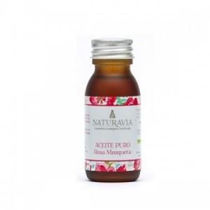 Naturavia Aceite puro biológico de Rosa Mosqueta - Productos de belleza y cosmética ecológicos