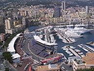 Imagen de las calles de Montecarlo durante la disputa del GP de Mónaco