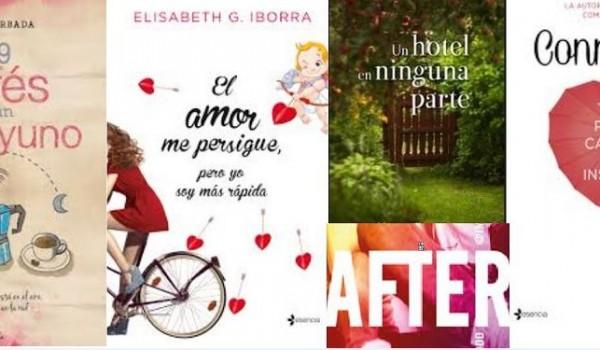 5 Novelas románticas para San Valentín