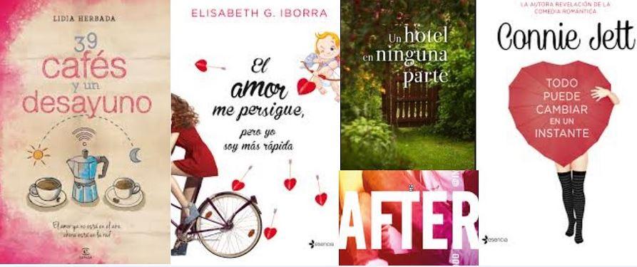 5 Novelas románticas para regalar por San Valentín