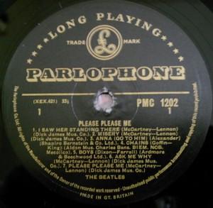 Álbum Beatles, Please, please me.