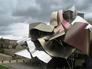 Bodega Marqués de Riscal. Imagen libre Wikimedia