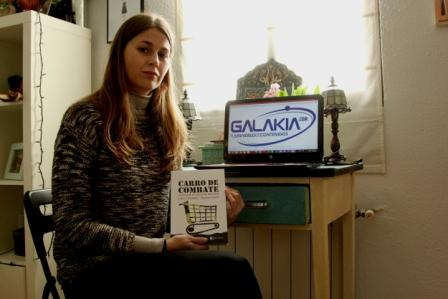Laura Villadiego presenta su libro y proyecto Carro de combate