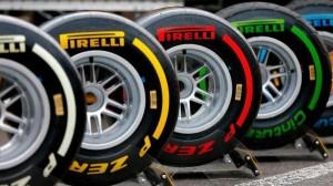 Neumaticos utilizados por los monoplazas en la Fórmula 1