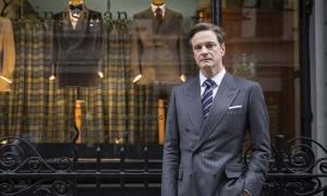 """Imagen del actor británico Colin Firth caracterizado para la película """"Kingsman: servicio secreto"""""""