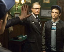 "Fotograma de ""Kingsman: servicio secreto"", con Colin Firth"