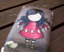 Carcasa para móvil con muñeca gorjuss