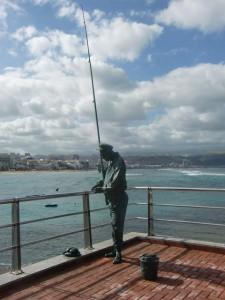 """Homenaje Monumento al """"Chacalote"""" (marinero fallecido faenando)"""