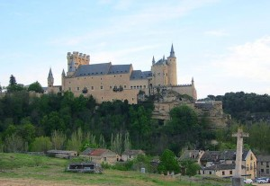 El Alcázar de Segovia es una de los principales símbolos de la ciudad.
