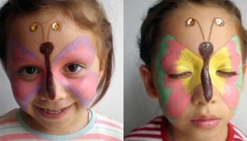 Antifaces de mariposa – Imagen por Fidelina Sánchez Torres