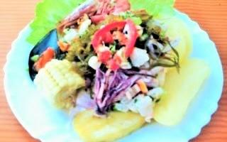 Imagen de Receta de Ceviche peruano mixto