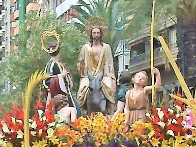 La Semana Santa y el Domingo de Ramos