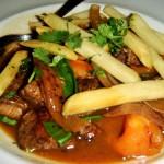 Recetas de comida: lomo saltado del Perú
