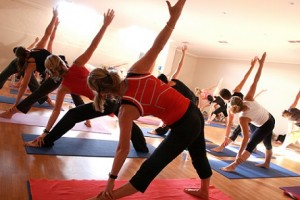 Serie de ejercicios de Pilates