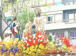 El Domingo de Ramos salen las primeras procesiones de Semana Santa, como la Pollinica