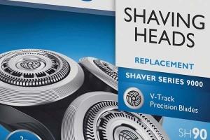 Recambios para los cabezales de máquinas de afeitar eléctricas Braun y Philips