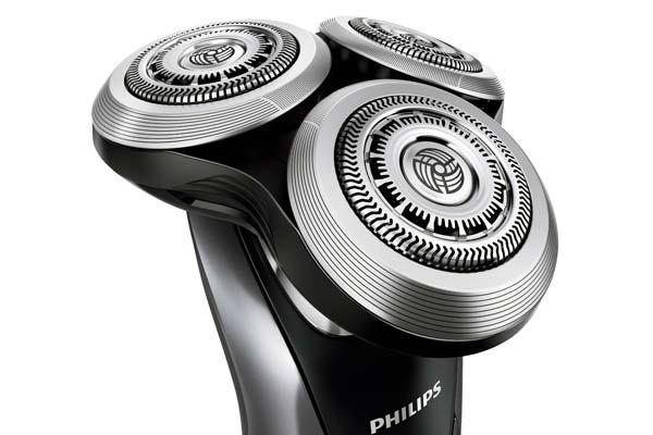 Láminas y cabezales de recambio para máquinas de afeitar eléctricas Braun y Philips