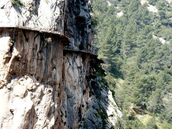 Caminito del Rey reabre su ruta de vértigo