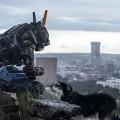 """Imagen del robot """"Chappie"""", la película protagonizada por Sigourney Weaver y Hugh Jackman"""