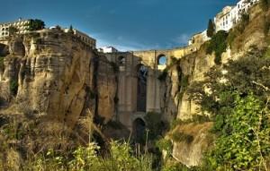 Puente Nuevo en Ronda (Andalucía)
