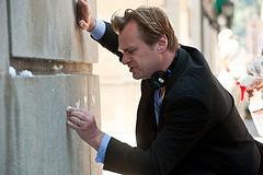 Christopher Nolan rodando