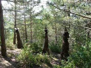 El Parque Temático Brujas de Laspaúles, en Huesca
