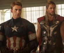 """Fotograma de la película """"Vengadores: La era de Ultrón"""", con Chris Hemsworth"""