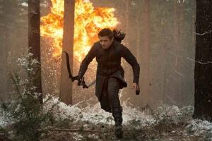 """Escena de acción de """"Vengadores: La era de Ultrón""""."""