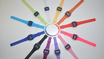 reloj casio colores