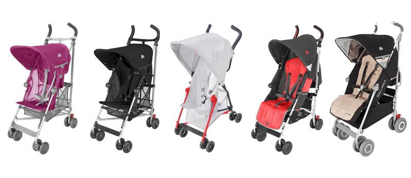 Maclaren comparativa de las sillas de paseo maclaren for Carritos de bebe maclaren