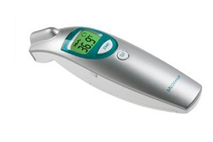 Termometro electrónico sin contacto temporal