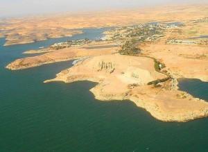 Abu Simbel, a pies del lago Nasser