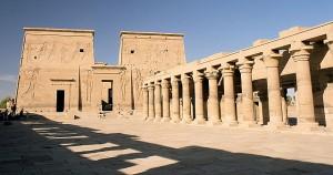 Templo de Philae, en honor a la diosa Isis