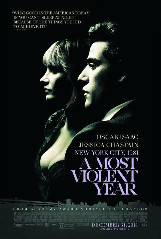 """Crítica de """"El Año Más Violento"""", con Oscar Isaac y Jessica Chastain"""
