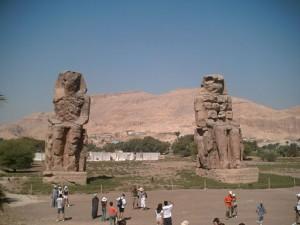 Los Colosos de Memnon en Luxor