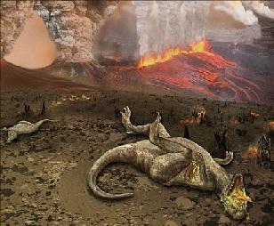 ¿Causó la materia oscura la extinción de los dinosaurios?