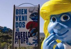 Bienvenida al pueblo pitufo